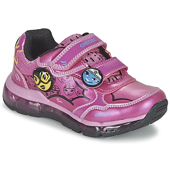Chaussures Fille Baskets basses Geox ANDROID GIRL Rose
