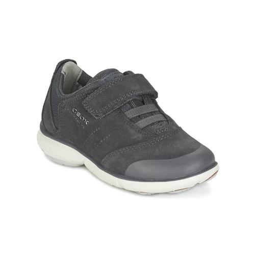Chaussures Garçon Baskets basses Geox NEBULA BOY Gris