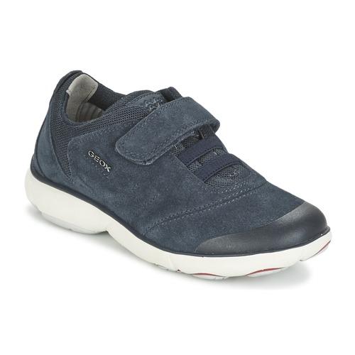 Chaussures Garçon Baskets basses Geox NEBULA BOY Bleu