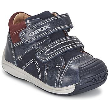 Chaussures Garçon Baskets montantes Geox B TOLEDO BOY Bleu