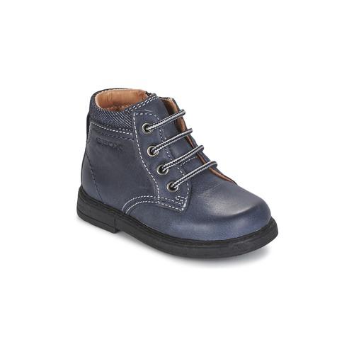Chaussures Garçon Boots Geox B GLIMMER Bleu
