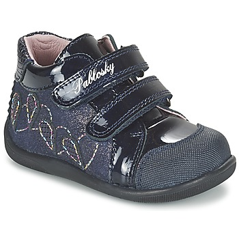 Chaussures Fille Baskets montantes Pablosky VANIDELLE Marine