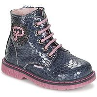Chaussures Fille Boots Pablosky CHAVISKA Marine