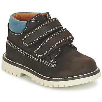 Chaussures Garçon Boots Pablosky ESBATIATE Marron