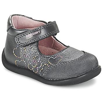Chaussures Fille Ballerines / babies Pablosky JOUBEK Gris