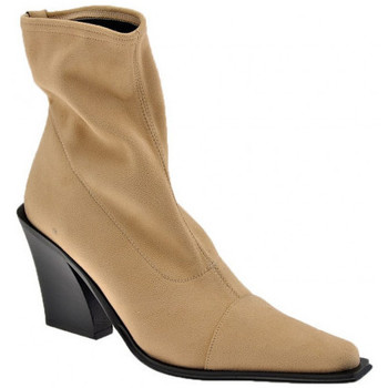 Chaussures Femme Bottines Bocci 1926 Stub T.100 Bottines Beige