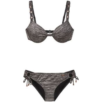 Vêtements Femme Maillots de bain 2 pièces Protest Islay wire bikini true black