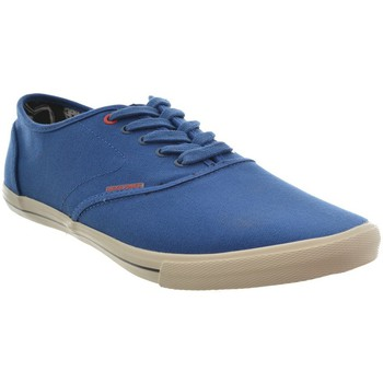Chaussures Jack jones baskets mode jjspider canvas sneaker limoges blue bleu