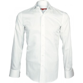 Chemise Andrew Mc Allister chemise col crocodile spark blanc