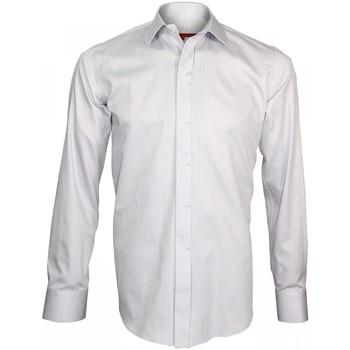 Vêtements Homme Chemises manches longues Andrew Mc Allister chemise ceremonie event gris Gris
