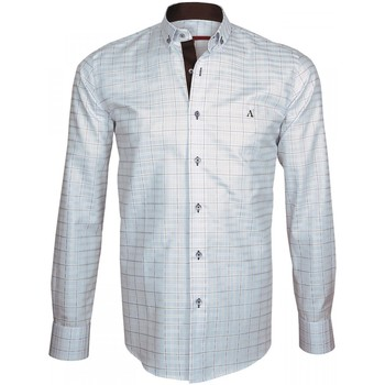 Chemise Andrew mc allister chemise a coudieres elbow bleu