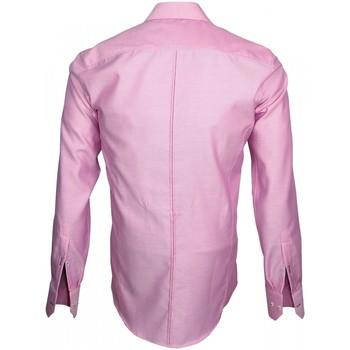 Longues Settimo Vêtements Emporio Balzani Tissu Chemises Manches Armuree Homme Rose Chemise wnOk80PX