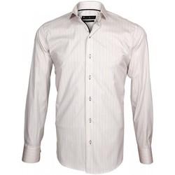 Vêtements Homme Chemises manches longues Emporio Balzani chemise multicolore settimo ii rose Rose