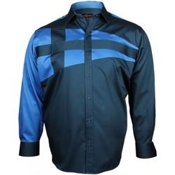 Chemises manches longues Doublissimo chemise mode nautica bleu