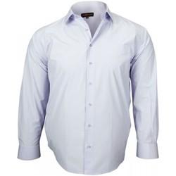 Vêtements Homme Chemises manches longues Doublissimo chemises popeline verone parme Parme