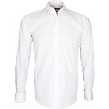 Vêtements Homme Chemises manches longues Emporio Balzani chemise habillee blanc Blanc