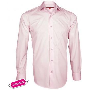 Chemises manches longues Andrew Mc Allister chemise premium basic-mode rose