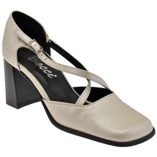 Chaussures Femme Escarpins Bocci 1926 Escarpin est contre-T.60 Escarpins Beige