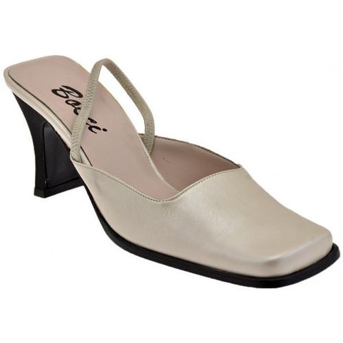Chaussures Femme Sandales et Nu-pieds Bocci 1926 SangleélastiqueT.70Sandales Beige