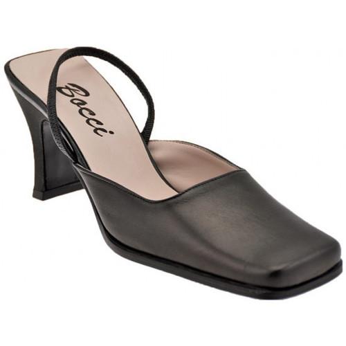 Chaussures Femme Sandales et Nu-pieds Bocci 1926 SangleélastiqueT.70Sandales Noir