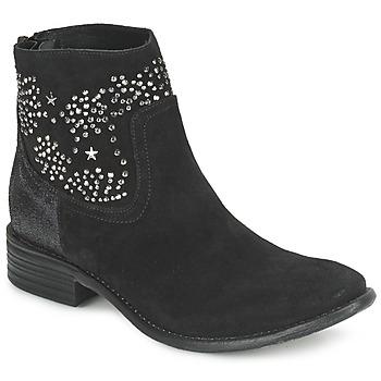 Bottines / Boots Meline VELOURS STARTER Noir 350x350