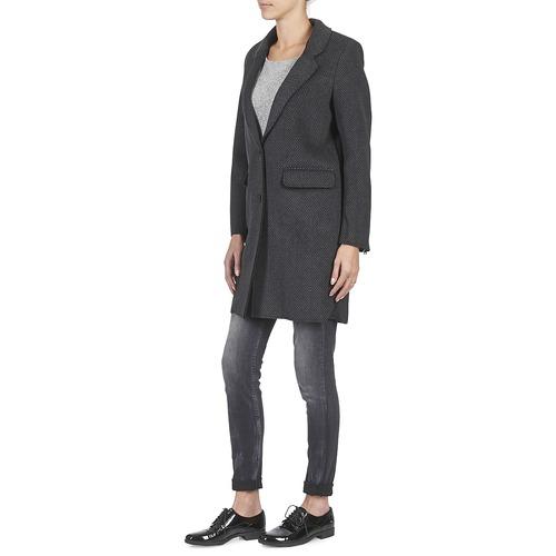 GrisNoir Manteaux Tableaubis Paris Femme Eleven eWbDIE9H2Y