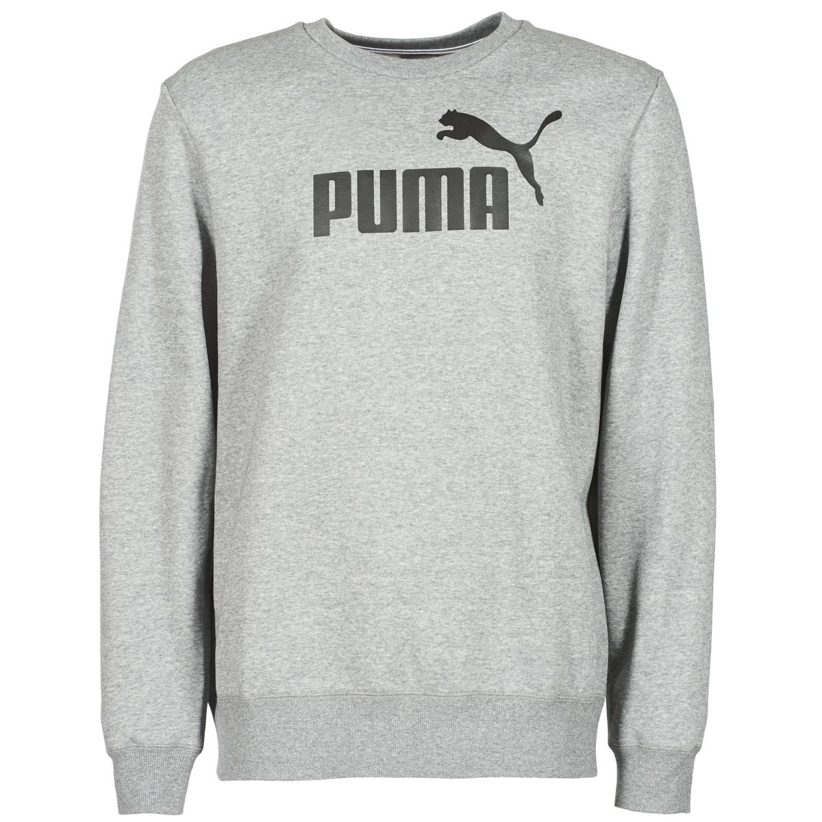 Puma ESS CREW SWEAT FL Gris
