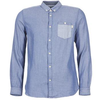 Chemises Tom Tailor INIDULLE Bleu 350x350
