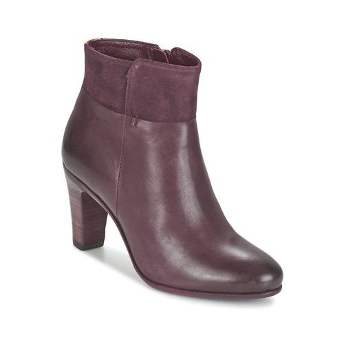 Chaussures Femme Bottines Fred de la Bretoniere NAVAJO Bordeaux