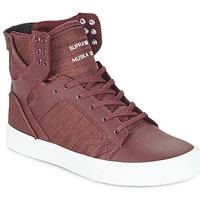 Chaussures Baskets montantes Supra SKYTOP Bordeaux