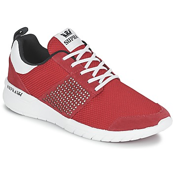 Chaussures Baskets basses Supra SCISSOR Rouge