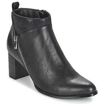 Chaussures Femme Bottines Moony Mood FOCAI Noir