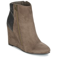 Chaussures Femme Bottines Moony Mood FIKI Taupe