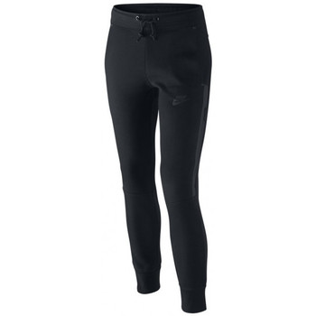 Vêtements Femme Pantalons de survêtement Nike Pantalon de survêtement  Tech Fleece Junior - Ref. 807565-010 Noir