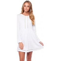 Vêtements Femme Robes courtes Rhythm Robe  My L/S Tee - White blanc