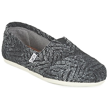 Chaussures Femme Slips on Toms SEASONAL CLASSIC Gris