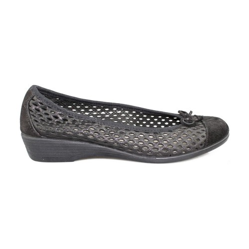 Chaussures Femme Ballerines / babies Vulladi CRAQUELE BLACK
