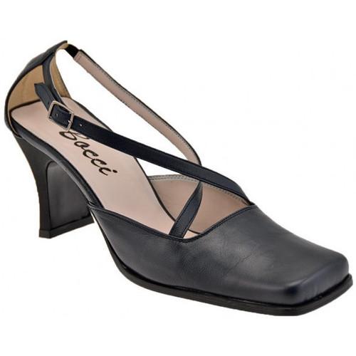 Chaussures Femme Escarpins Bocci 1926 ChaussurePuntaQuadraT.60CourestEscarpins bleu