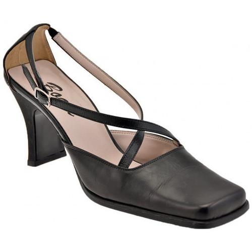 Chaussures Femme Escarpins Bocci 1926 ChaussurePuntaQuadraT.60CourestEscarpins Noir