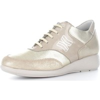 Chaussures Homme Baskets basses CallagHan 90412 Basket Femme Gold Gold