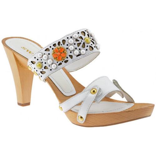 Chaussures Femme Sandales et Nu-pieds Swish Socket80talonSandales blanc