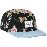 Casquettes Two Face Black Rose