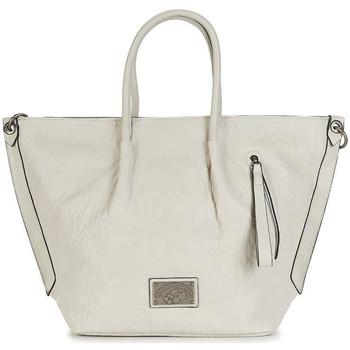 Sacs Femme Cabas / Sacs shopping Le Temps des Cerises Sac Cabas  Bonnie 1 Mastic Beige