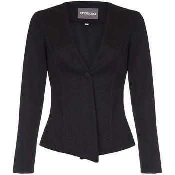Vêtements Femme Vestes / Blazers Anastasia  Noir