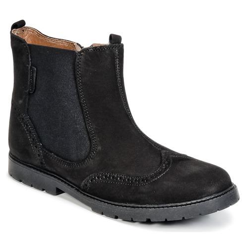 Chaussures Enfant Boots Start Rite DIGBY Noir