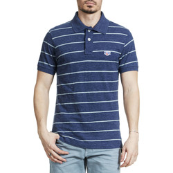 Vêtements Homme Polos manches courtes Franklin & Marshall Polo  Bleu Chine Homme Bleu