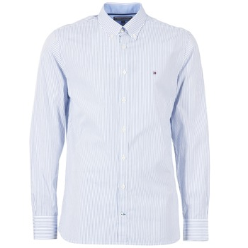 Chemises Tommy Hilfiger DUNFORD STP NFC2 Bleu 350x350