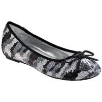 Chaussures Femme Ballerines / babies F. Milano ScintillementBallerines Noir