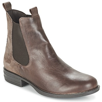 Chaussures Femme Boots Casual Attitude FENDA Taupe