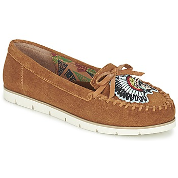 Chaussures Femme Mocassins Miss L'Fire CHIEFTAIN Camel